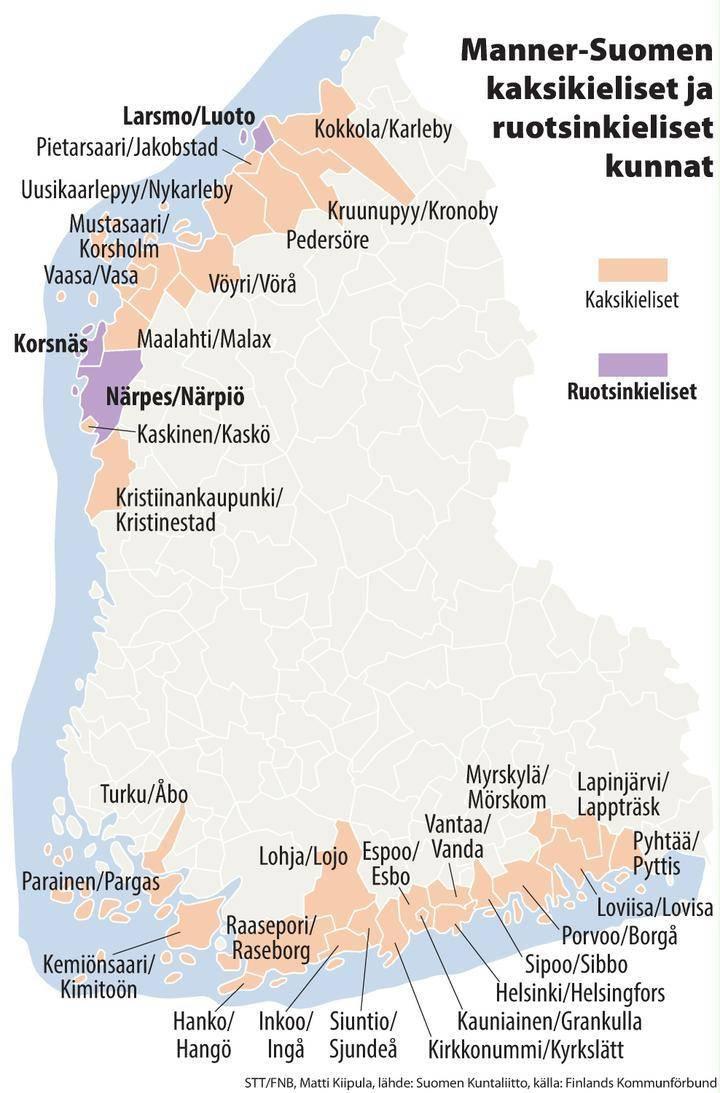 Ruotsinkieliset Suomessa