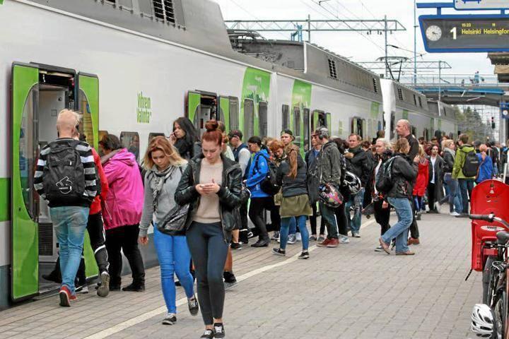 Bussilla Helsinkiin