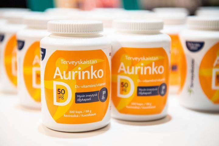 Vitamiinit Ja Hivenaineet Taulukko