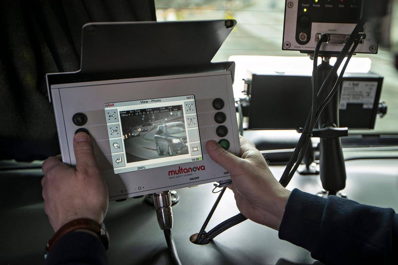Poliisin Liikkuva Kamera-Auto