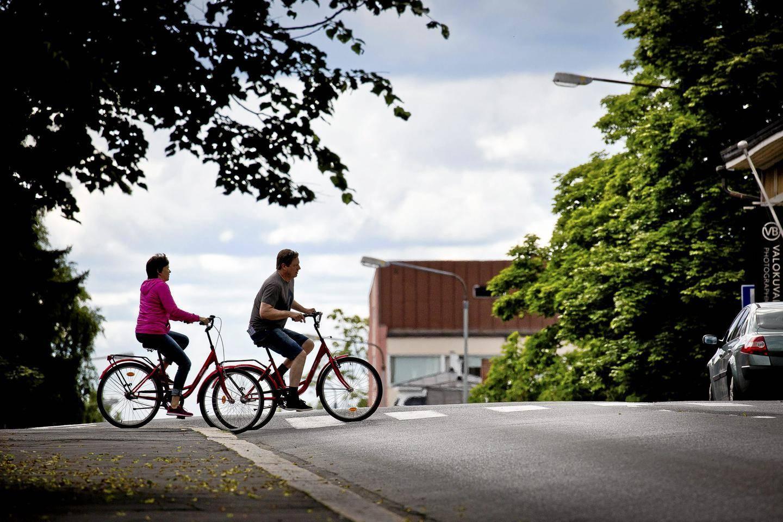Pyöräilykypärän Käyttö