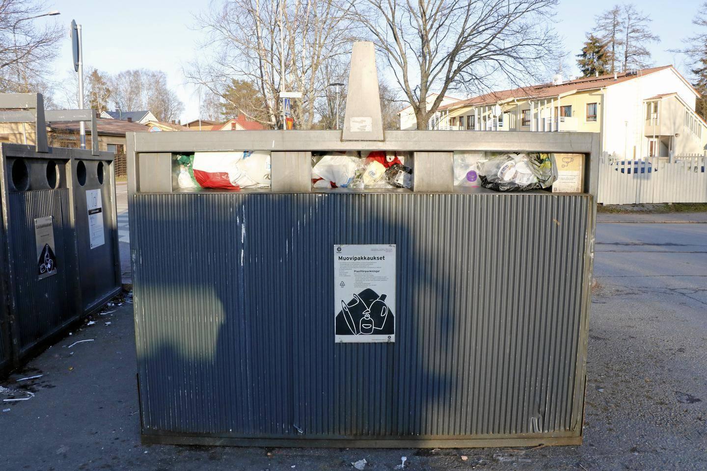 Kierrätyspiste Helsinki