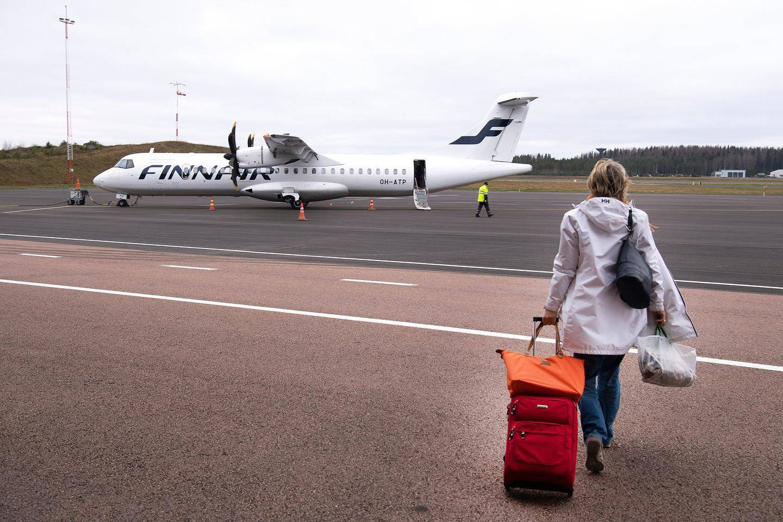 Lennot Jyväskylästä