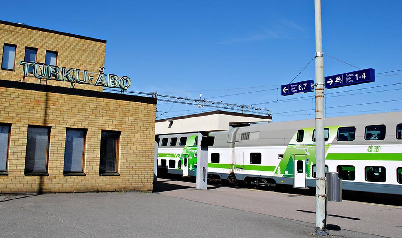 Juna Turku Tampere
