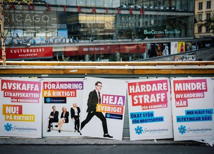 Ruotsidemokraatit Kannatus