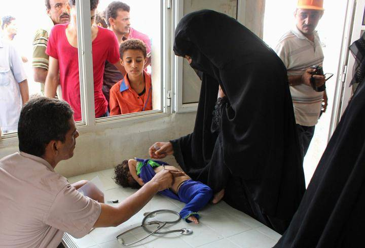Järjestö: Lähes 600 000 Lasta Voi Kuolla Konfliktialueilla Nälkään