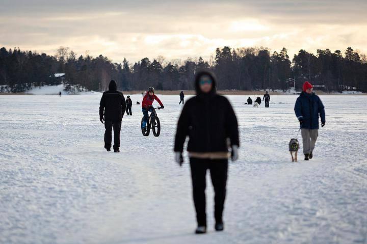 Lämpötilat Suomessa Nyt