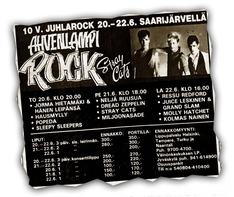 Ahvenlampi Rock